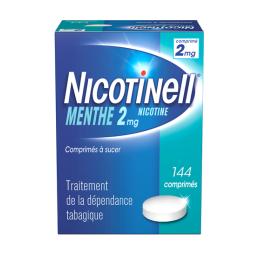 Nicotinell menthe 2mg - 144 comprimés à sucer