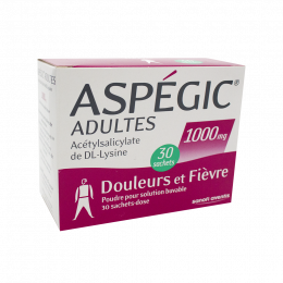 Aspegic 1000mg - x30 sachets