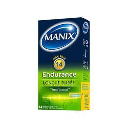Manix Endurance longue durée time control - 14 préservatifs