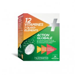 Nutrisanté 12 vitamines + 7 oligo-éléments - 24 comprimés