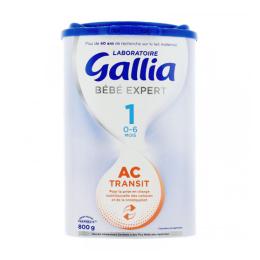 Gallia AC-Transit 1 0-6 mois - 800g