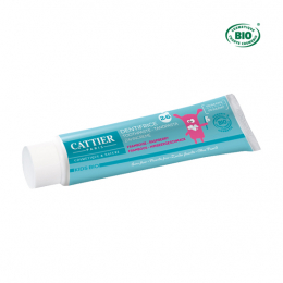 Cattier Dentifrice 2 à 6 ans framboise bio - 50ml