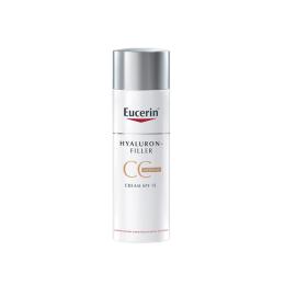 Eucerin Hyaluron-Filler CC Cream Medium Crème Teintée Anti-âge - 50ml
