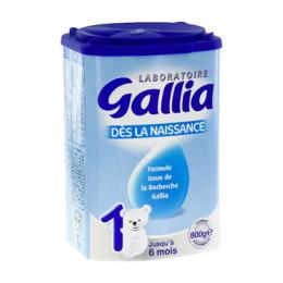 Gallia Calisma lait 1er âge  - 800g