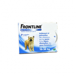 Frontline Spot-On Chien M 10 à 20 kg 4 Pipettes