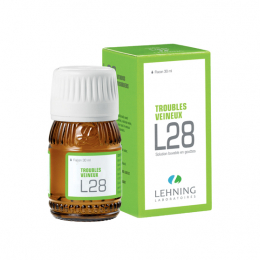 Lehning L28 Solution buvable en gouttes - 30ml