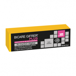 Gifrer Bicare Plus Dentifrice charbon - 75ml