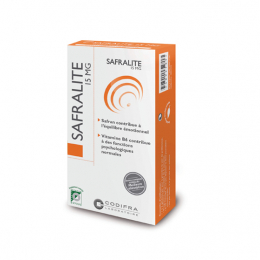 Codifra Safralite 15mg - 28 gélules