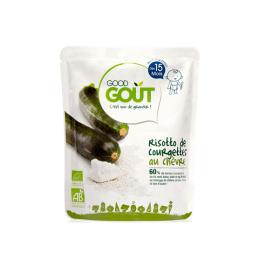 Good Gout Plat BIO risotto de courgettes au chèvre - 190g