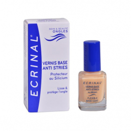 Ecrinal Vernis base anti-stries - 10ml