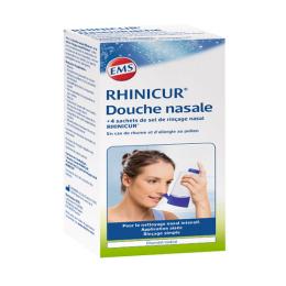 Rhinicur Douche nasal + 4 sachets de sel de rinçage nasal