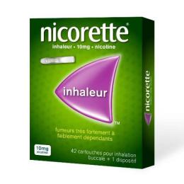 Nicorette Inhaleur 10mg - 42 cartouches + 1 dispositif