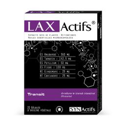 Aragan Synactifs Laxactifs - 20 gélules