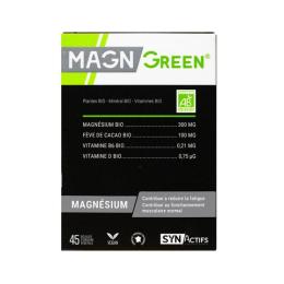 Aragan Synactifs Magngreen BIO - 45 gélules