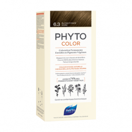 Phyto Phytocolor  Kit de coloration permanente - 6.3 Blond foncé doré