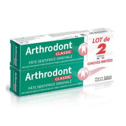 Arthrodont Classic Pâte dentifrice gingivale - 2x75ml