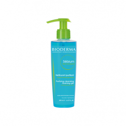 Bioderma Sebium gel moussant - 200ml