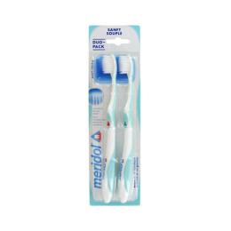 Meridol Brosse à dents protection gencives - Souple - Lot de 2