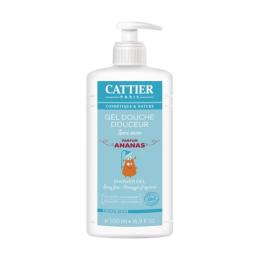 Cattier Gel douche douceur Kids BIO Parfum ananas - 500ml