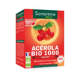 Santarome Acérola 1000 BIO - 20 comprimés