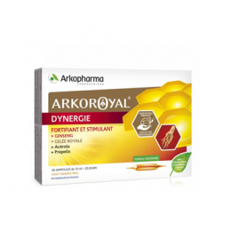 Arkopharma Arkoroyal Dynergie - 20 ampoules