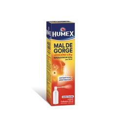 Humex Mal de gorge collutoire sans sucre - 35ml