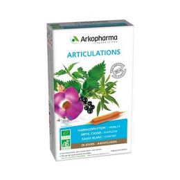 Arkopharma Arkofluides Articulations 20 Ampoules
