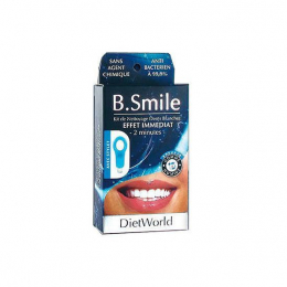Diet World B Smile Kit de nettoyage dents blanches - 5 gommes