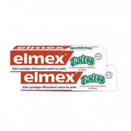 Elmex Dentifrice 6 à 12 ans - 2x75ml