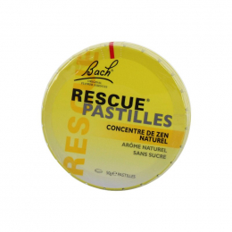 Bach Rescue Pastilles saveur orange sureau - 50g