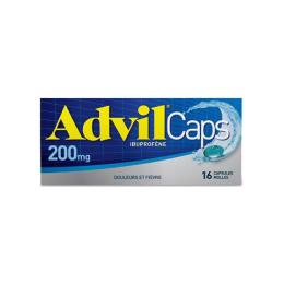 AdvilCaps 200mg - 16 capsules molles
