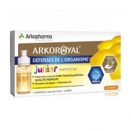 Arkopharma Arkoroyal Défenses de l'organisme Junior  - 5x10ml