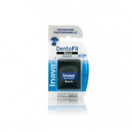 Inava Dentofil Black Fil Dentaire - 50m