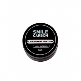 Smile Carbon Blanchisseur de dents naturel menthe -30g