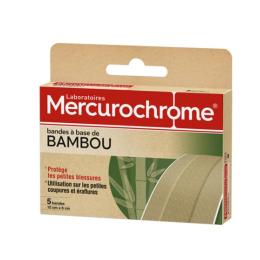 Mercurochrome Bandes Bambou -  5 Bandes