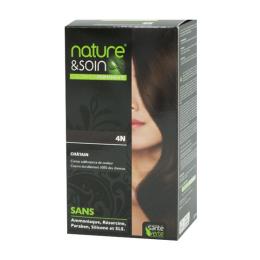 Santé Verte nature & soin coloration permanente - Châtain 4N