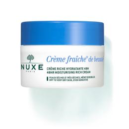 Nuxe Crème fraîche de beauté crème riche hydratante 48h - 50ml