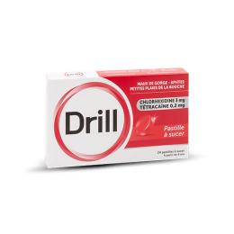 Drill Pastille - 24 pastilles