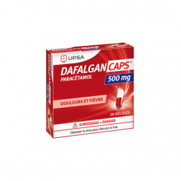 UPSA Dafalgan 500 mg - 16 gélules