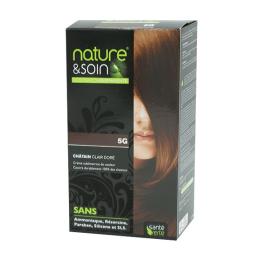 Santé Verte nature & soin coloration permanente châtain clair doré 5G - 129ml