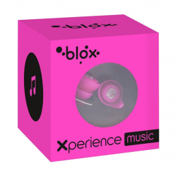 Blox Xperience music rose fluo bouchons d'oreille  - 1 paire