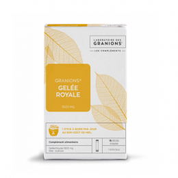Granions Gelée Royale 1500 mg - 15 Sticks