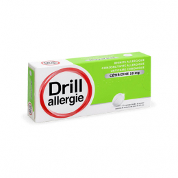 Drill allergie cétirizine 10mg - 7 comprimés