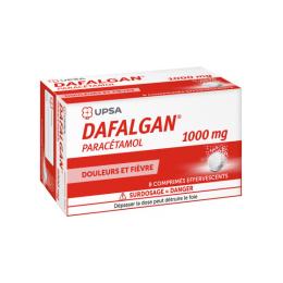 UPSA Dafalgan 1000mg Effervescents - 8 Comprimés