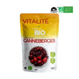 Madia BIO Super aliments Canneberges - 150g