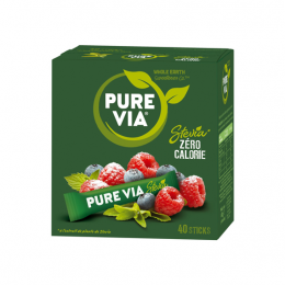 Pure Via Stevia - x40 sticks
