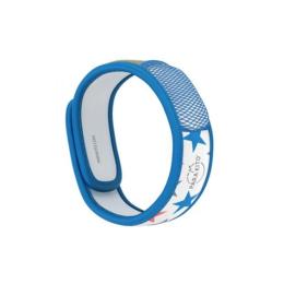 Para'kito Bracelet anti-moustique Bleu étoiles