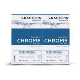 Granion Chrome 250MG - 2x60 comprimés