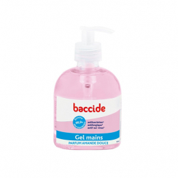 Baccide Gel mains parfum amande douce - 300ml
