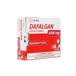 UPSA Dafalgan 1000mg - 8 gélules